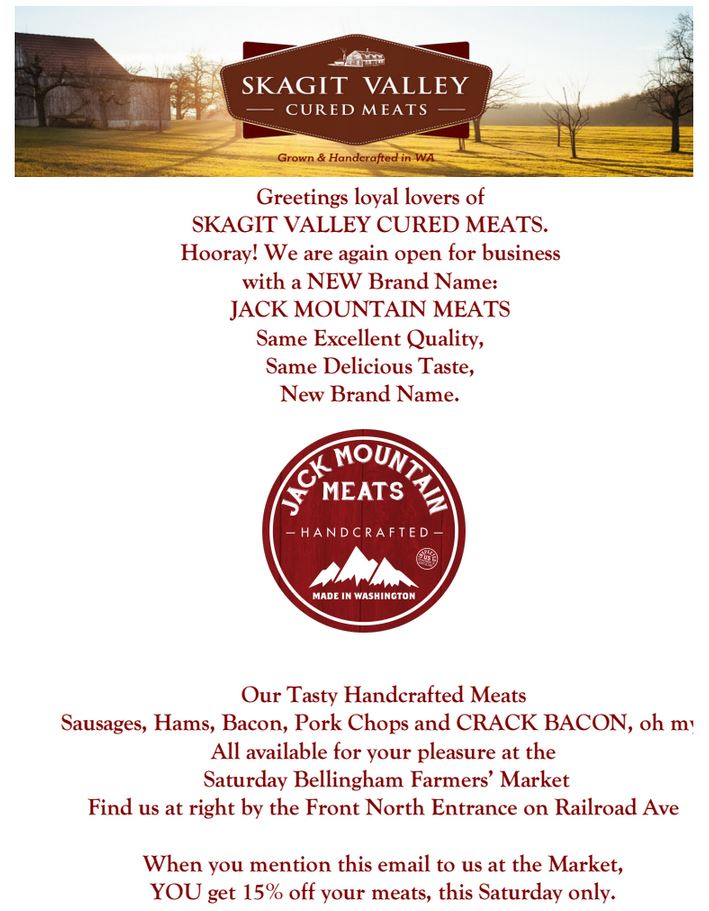 Jack Mountain Meats Announcement